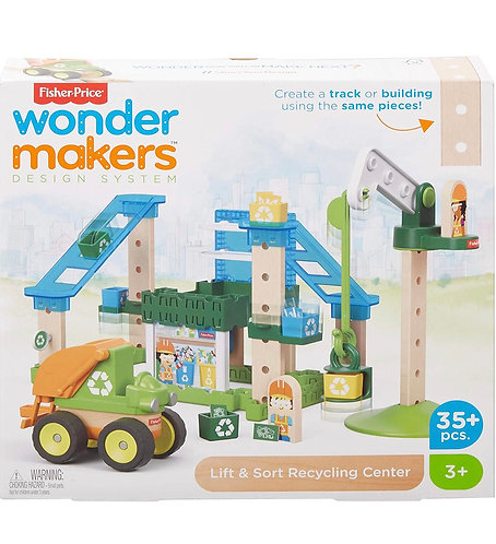 Fisher-Price Wonder Makers System Design Centro de Reciclaje