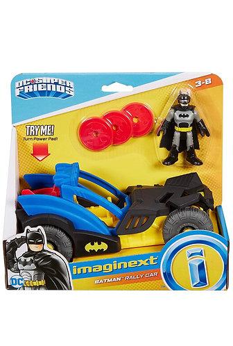 Batman Figura y coche de Rally