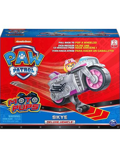 Paw Patrol Moto Pups Skye Deluxe Pull Back Motorcycle