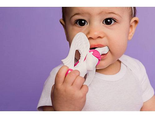 Cepillo de Dientes para Bebés Fucsia