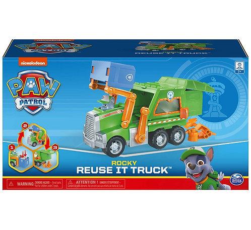 Rocky Reuse it Truck, incluye figura coleccionable