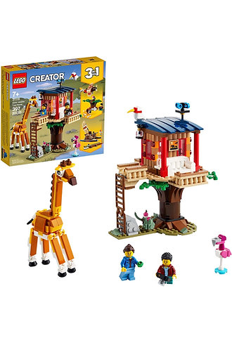 LEGO Creator 3 en 1 Safari Wildlife Tree House 31116 (397 pcs) 2021
