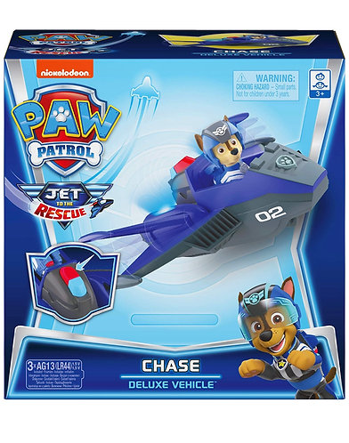 Paw Patrol Chase Jet to The Rescue