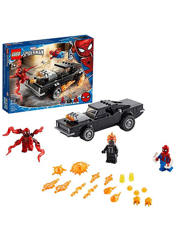 LEGO Spiderman and Ghost Rider vs Carnage 76173 (212 pcs)