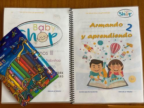 Libro Babyshop Armando y Aprendiendo 2
