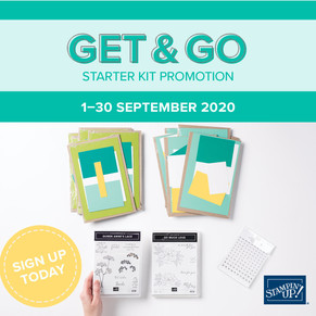 Get & Go Starter Kit Available Now!