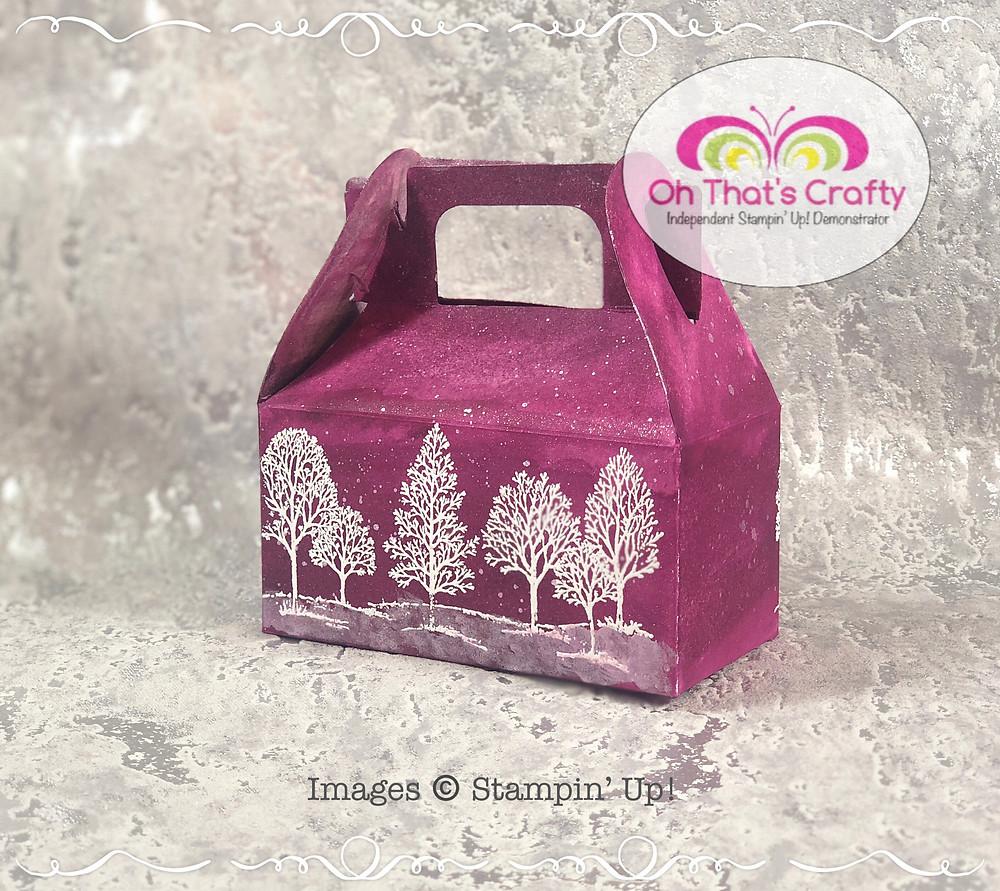 Wintery Scene Gable Box
