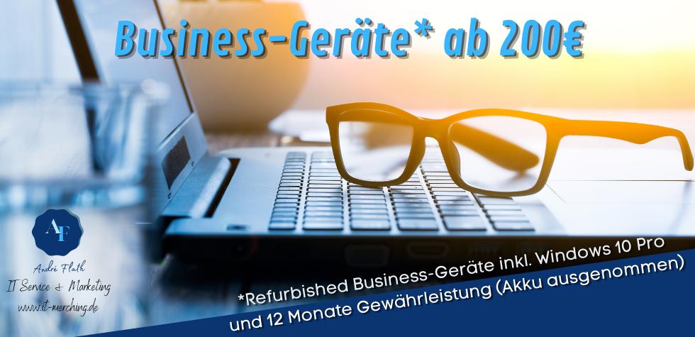 Business-Geräte ab 200€