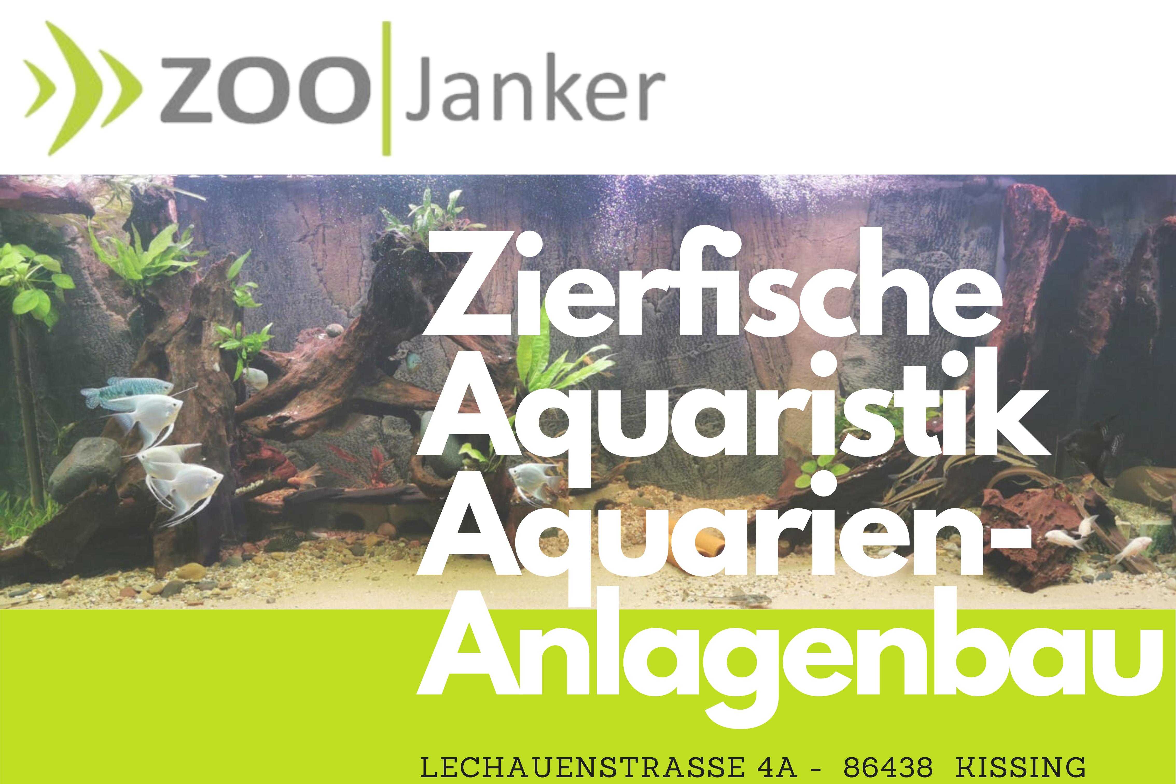 Vorschlag Zoo Janker Werbeschild