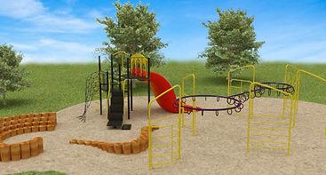Playground 3D Render
