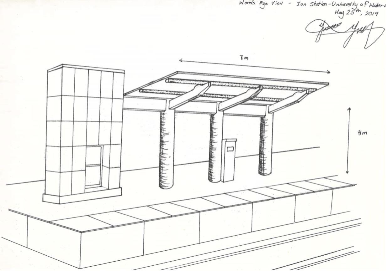 Ion Railway Platform