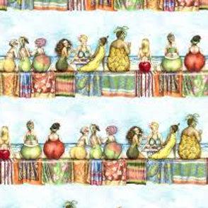 Fruit Ladies - Border Print