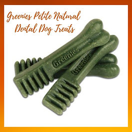 Greenies Petite Natural Dental Dog Treat
