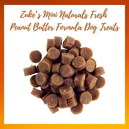 Zuke's Mini Naturals Fresh Peanut Butter
