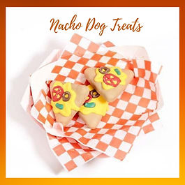 Nacho Dog Treats