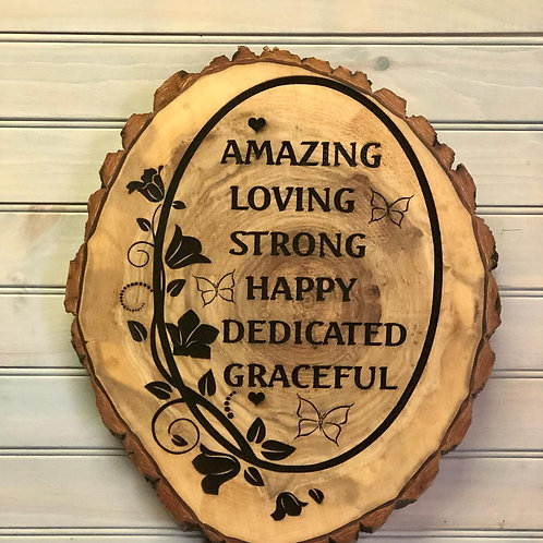 Beautiful Mother Sign