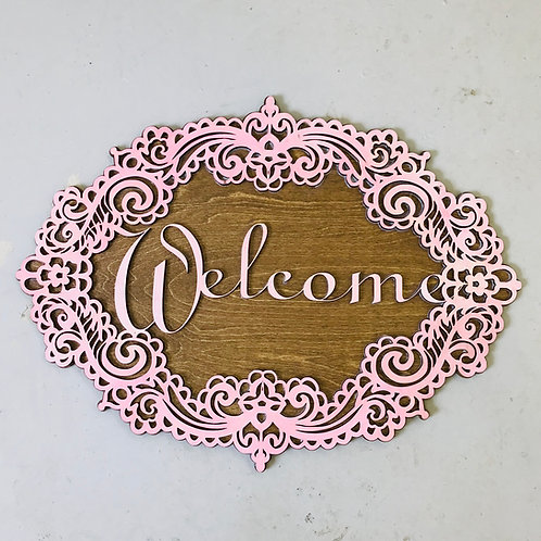 Victorian Welcome Wreath
