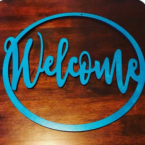 Welcome or Hello