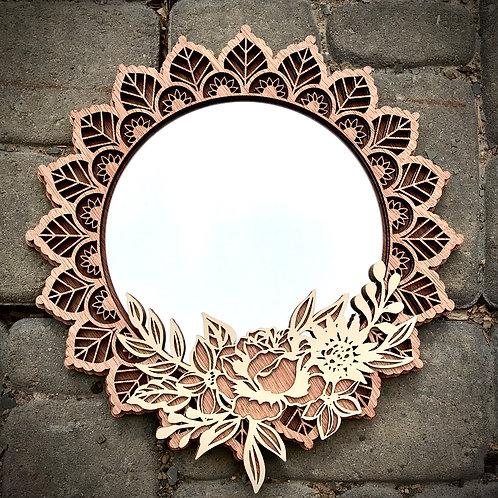 Mandala mirror