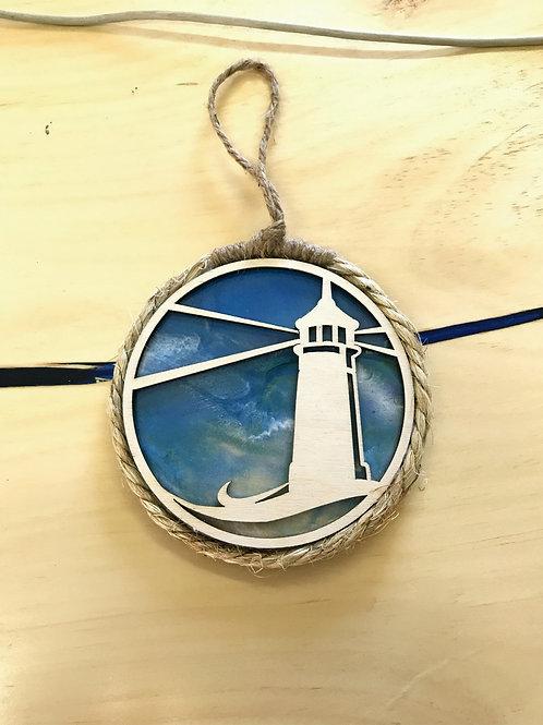 Lighthouse Ornament