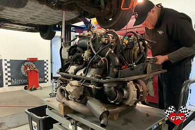 1988 Porsche 930 Turbo Slant Nose Engine