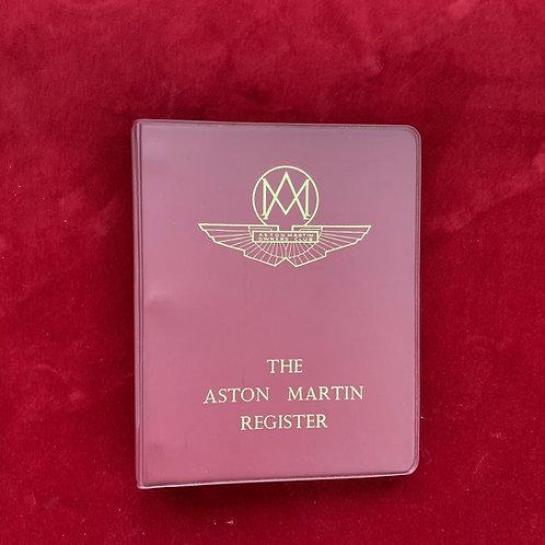 1974 Aston Martin Owners Club Book