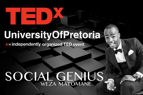 TEDx Talk : Social Genius