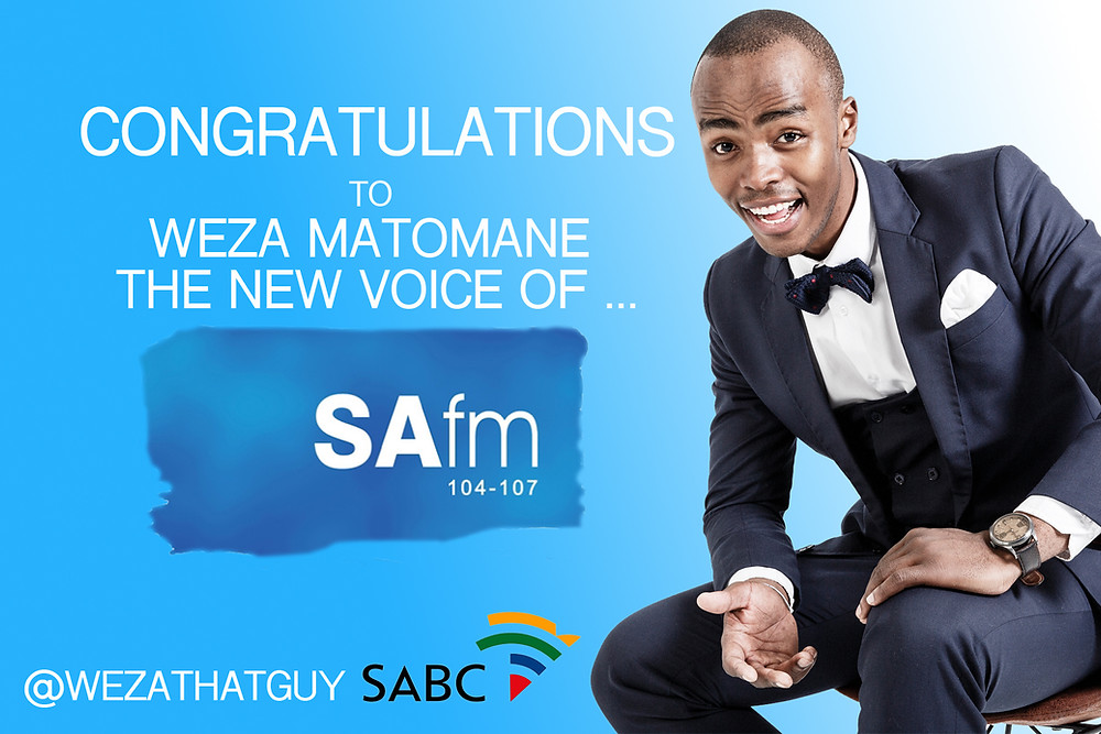 SA's Top Voice Artist Weza Matomane The New Station ID of SAfm