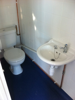 New Toilet and Sink For Girls.