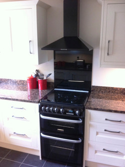 Free standing Cooker and Hood