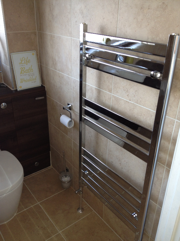Chrome Towel Ladder.