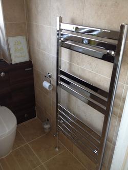 Chrome Towel Ladder.