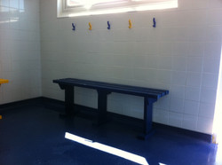 New Benches For Boys.
