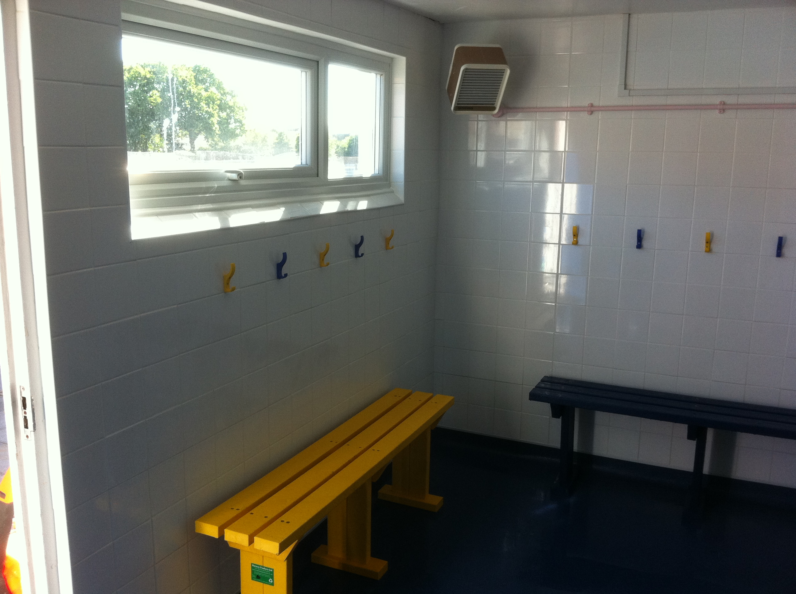 Girls New Changing Room.