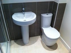 En-suite Toilet and Basin.