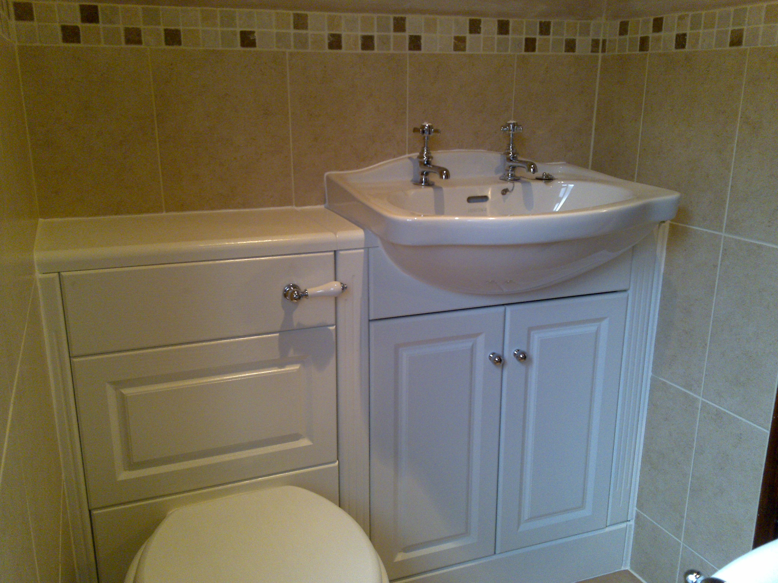 Fully Fitted Units in Traditional.