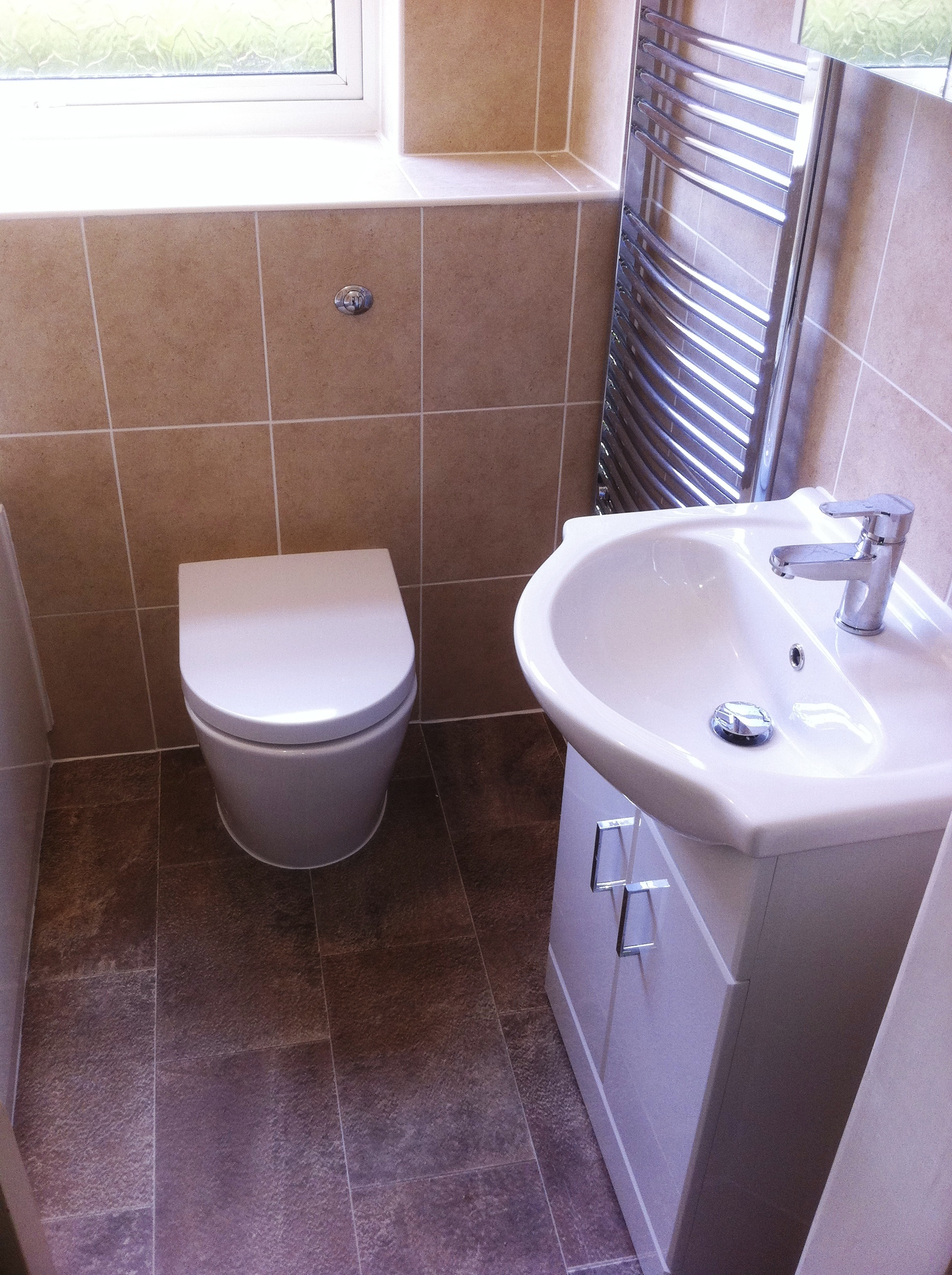 Bespoke Built-in Toilet & Cistern.