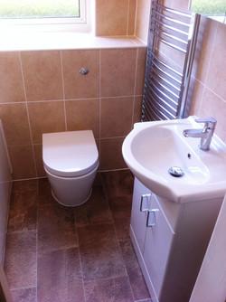 Bespoke Built-in Toilet & Cistern.