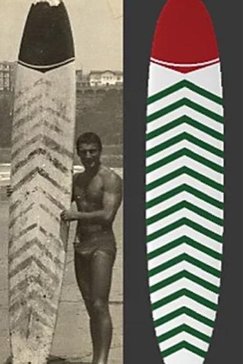 Réplique imprimée en 3D (20 cm) du 1er Surf (1956)
