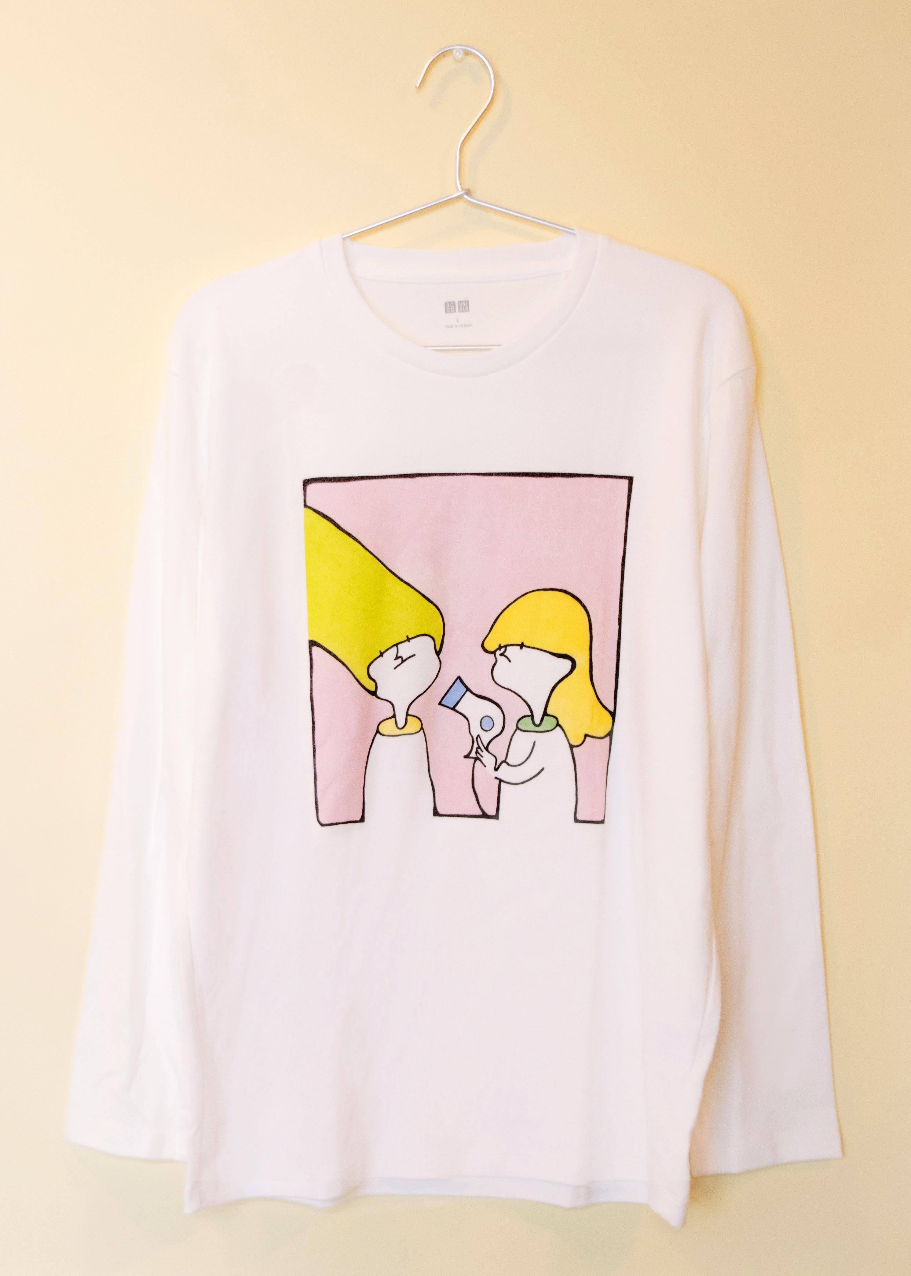ドライヤーTシャツ