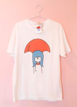 雨降って地固まるTシャツ