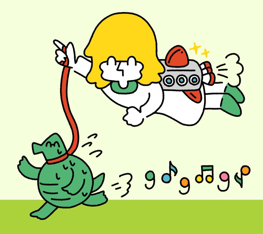 gogoお散歩