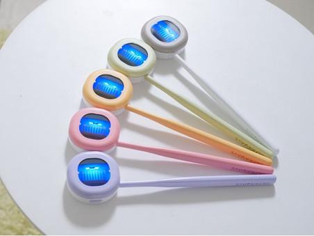 歯ブラシの除菌を毎日の習慣にしませんか?「歯ブラシ除菌キャップ コンパクト」