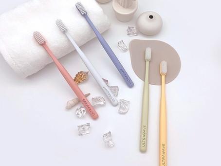 医療機器メーカープロデュース!歯茎にやさしい極細毛のULTRAWAVEの歯ブラシ