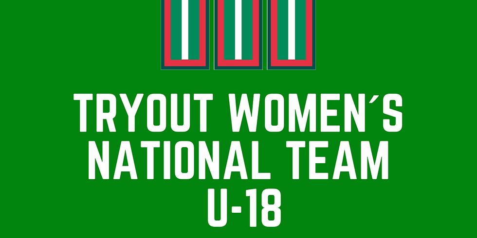 Tryout U-18 National Junior Team