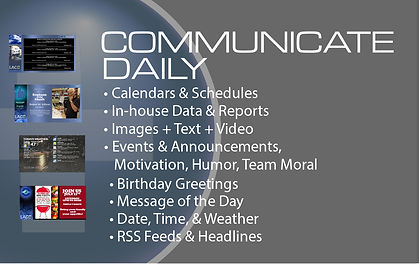 Daily Communication InfoGraphic
