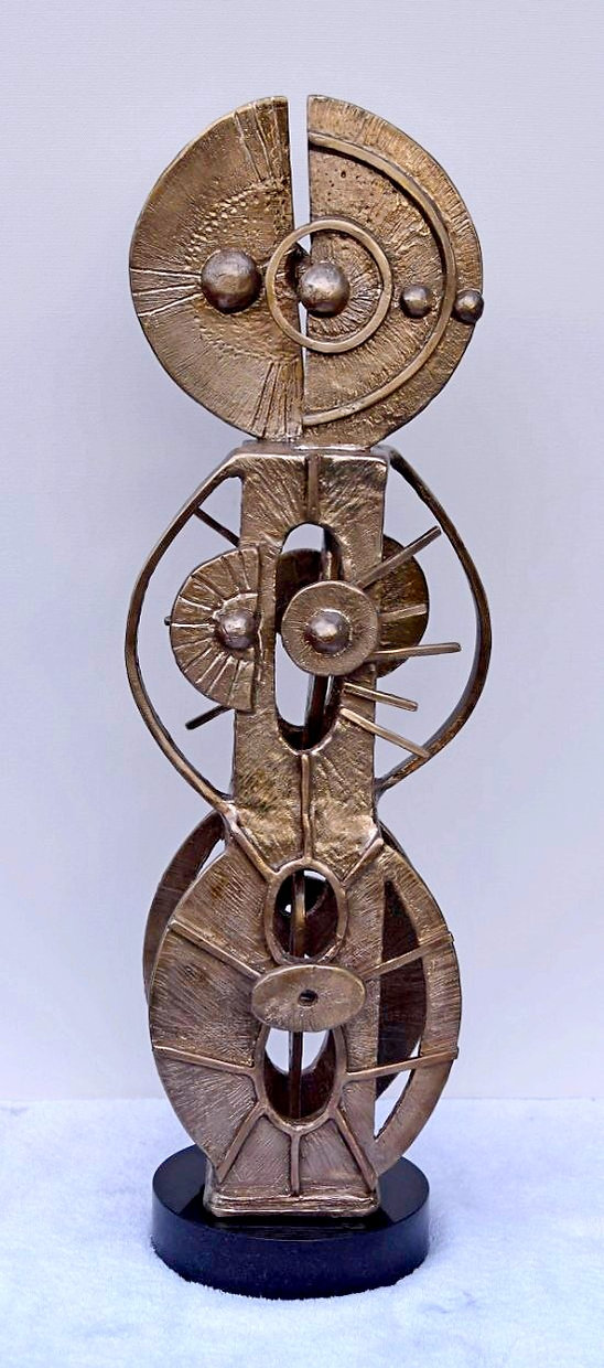 Anne Furnaris, The Cycle of the Sun I, Bronze, Professional Artists in USA, Fine Arts in USA, Visual Arts in USA, Professional Artists in Michigan, Fine Arts in Michigan, Visual Arts in Michigan,