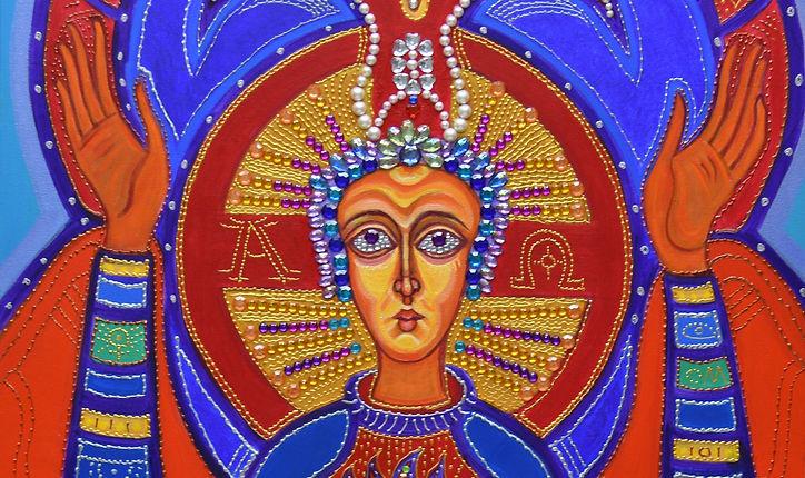 Artist Anne Furnaris,The Queen of Heavens IV,Fine Arts in Michigan,Fine Arts in USA,Professional Artists in Michigan,Professional Artists in USA,Visual Arts in Michigan,Visual Arts in USA