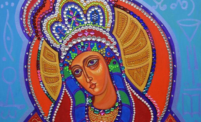 Artist Anne Furnaris,The Queen of Heavens IV,Fine Arts in Michigan,Fine Arts in USA,Professional Artists in Michigan,Professional Artists in USA,Visual Arts in Michigan,Visual Arts in USA,