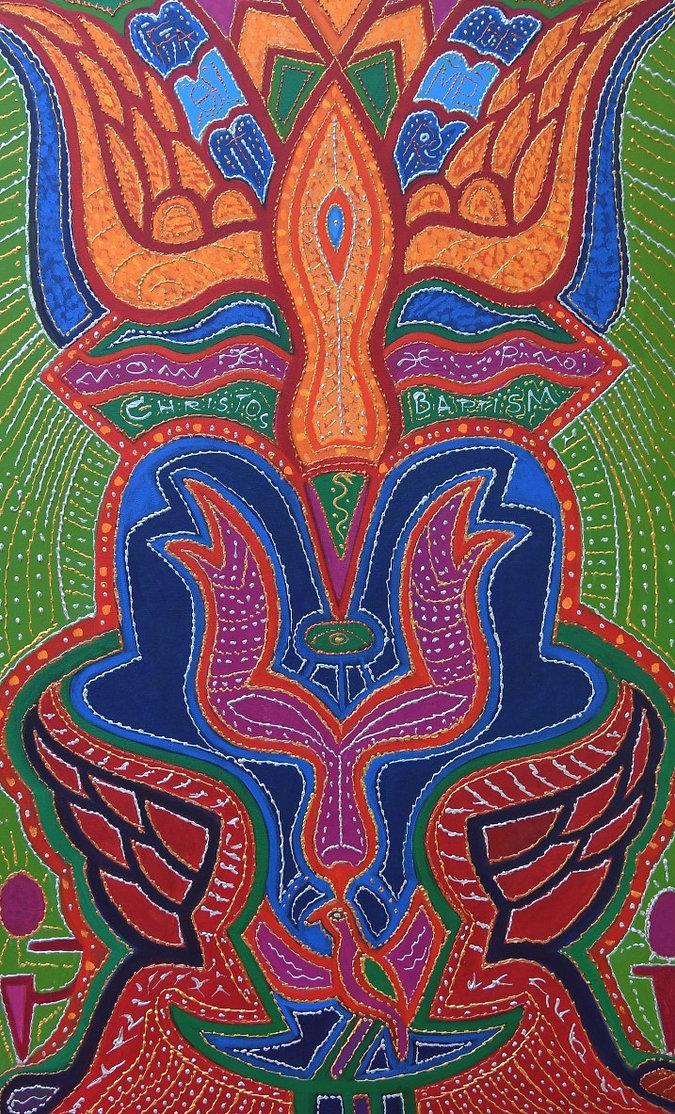 Anne Furnaris, The Fountain of Eternal Life IV, Fine Arts in Michigan, Fine Arts in USA, Professional Artists in Michigan, Professional Artists in USA, Visual Arts in Michigan, Visual Arts in USA, Esoteric-Hermetic Art,